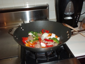 A stove top WOK works great at controlling the temp!